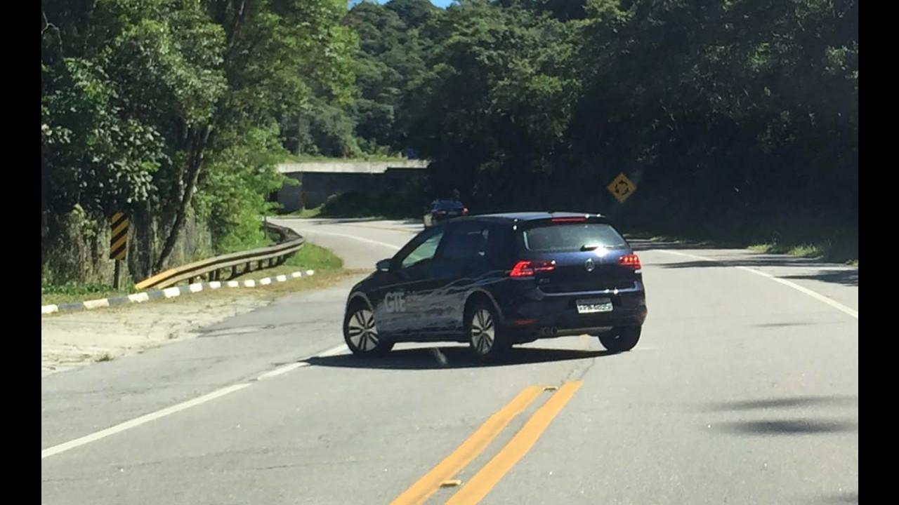 Flagra: VW intensifica testes do híbrido Golf GTE no Brasil