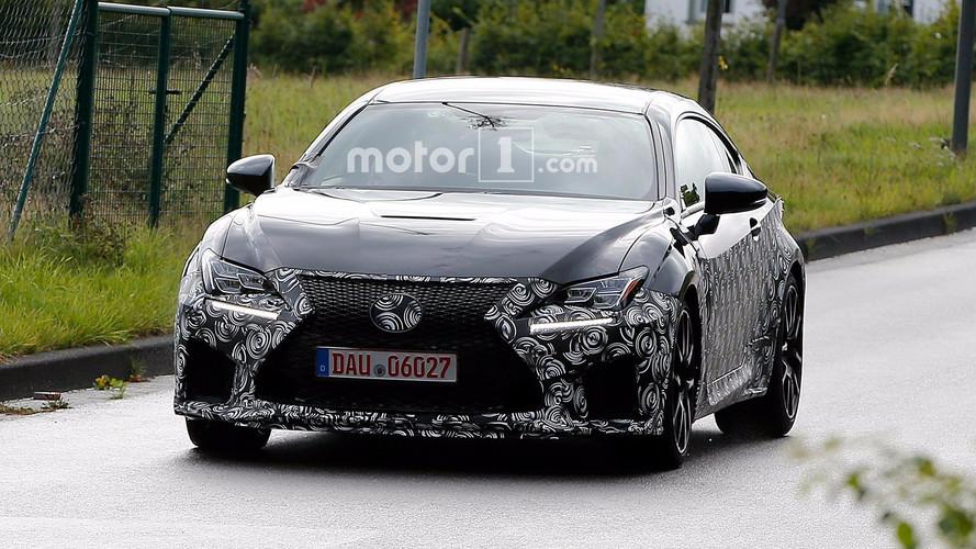 Photos espion - Lexus RC F