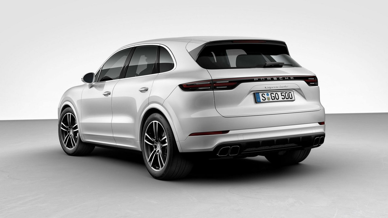 2018 Porsche Cayenne Turbo official image