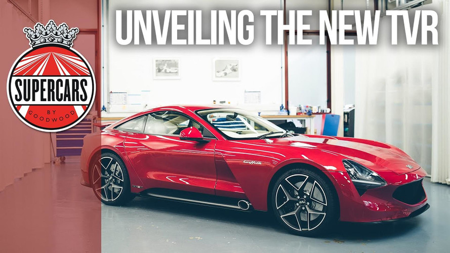 TVR Griffith Flaunts Its Carbon Body In First Videos