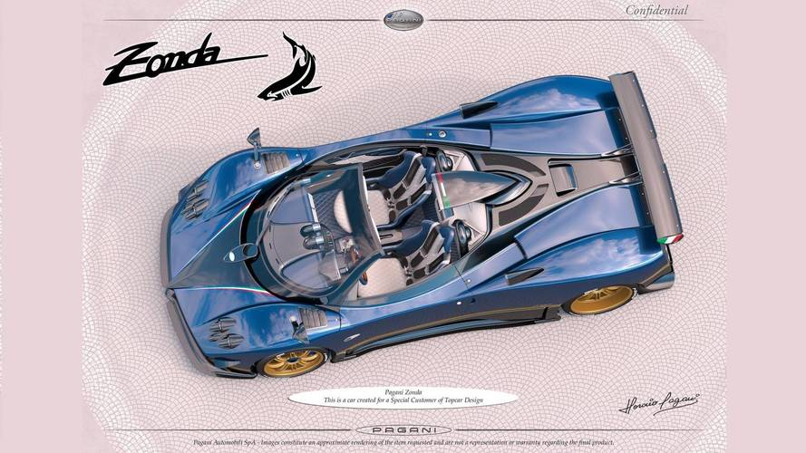 Of Course There Is A New Pagani Zonda