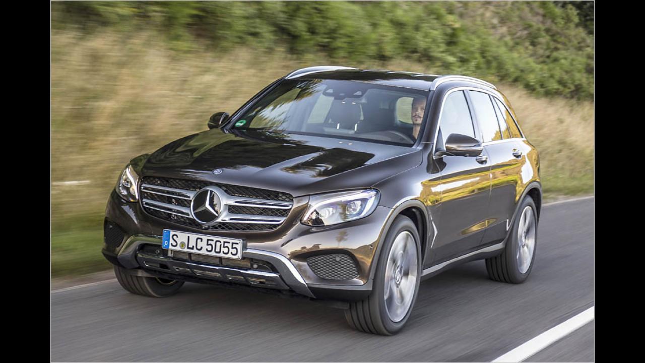 SUVs: Mercedes GLC