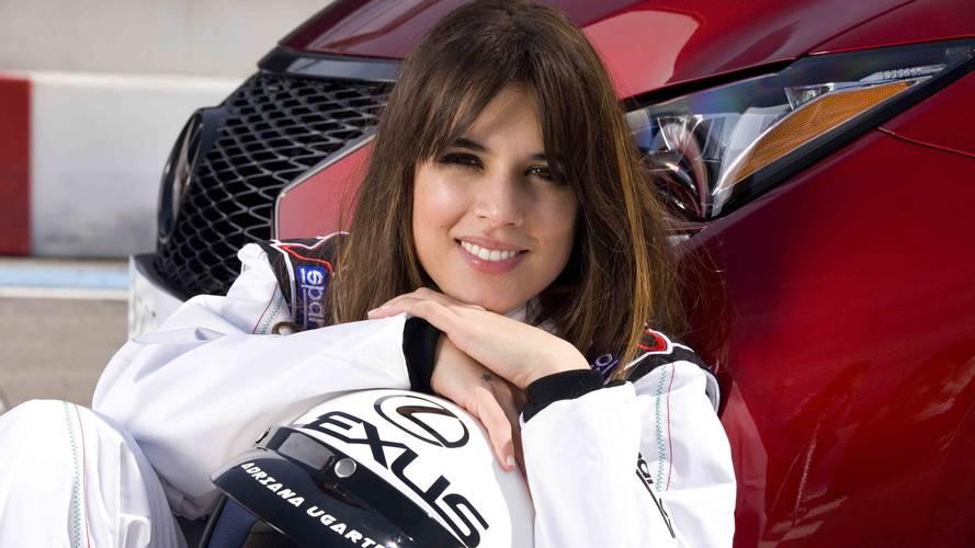 Adriana Ugarte, embajadora Lexus CT 200h
