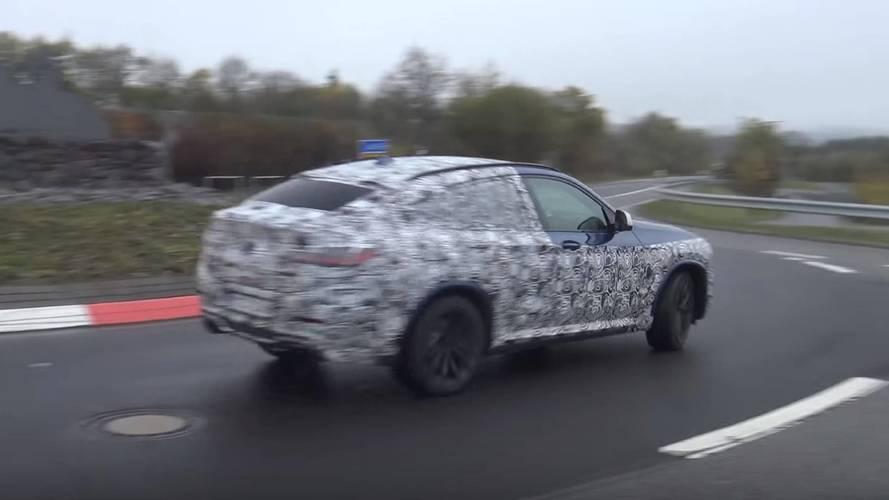 VIDÉO - La BMW X4 M40i surprise sur le circuit du Nürburgring