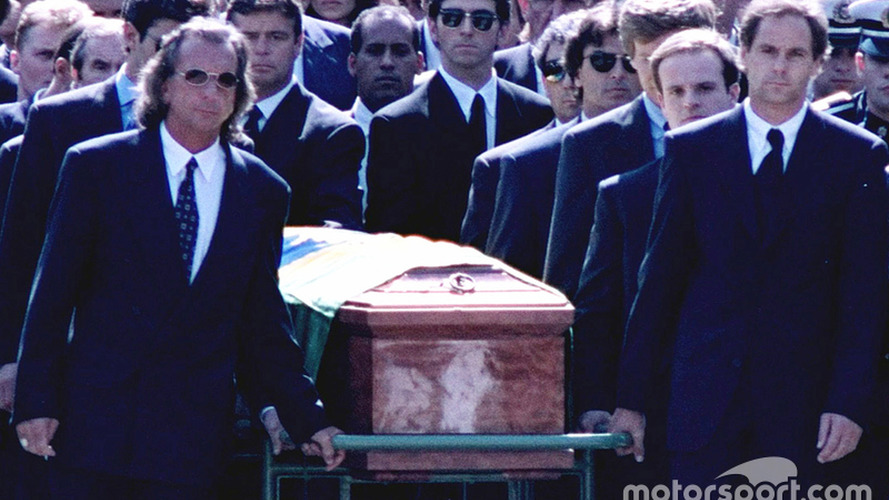 Barrichello: I have no memory of carrying Senna's coffin