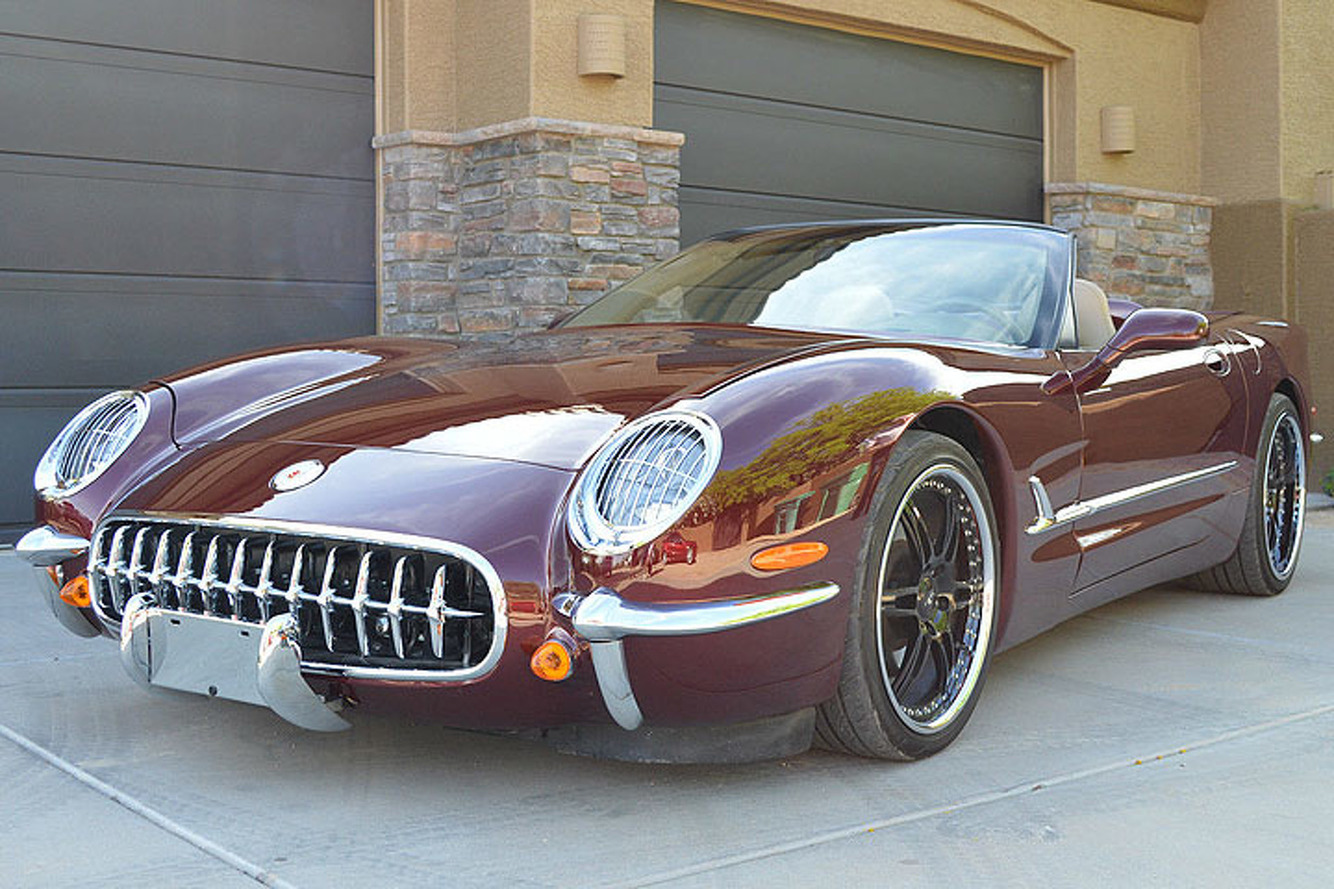 This Modern Corvette Celebrates 50 Years of the 'Vette in Style