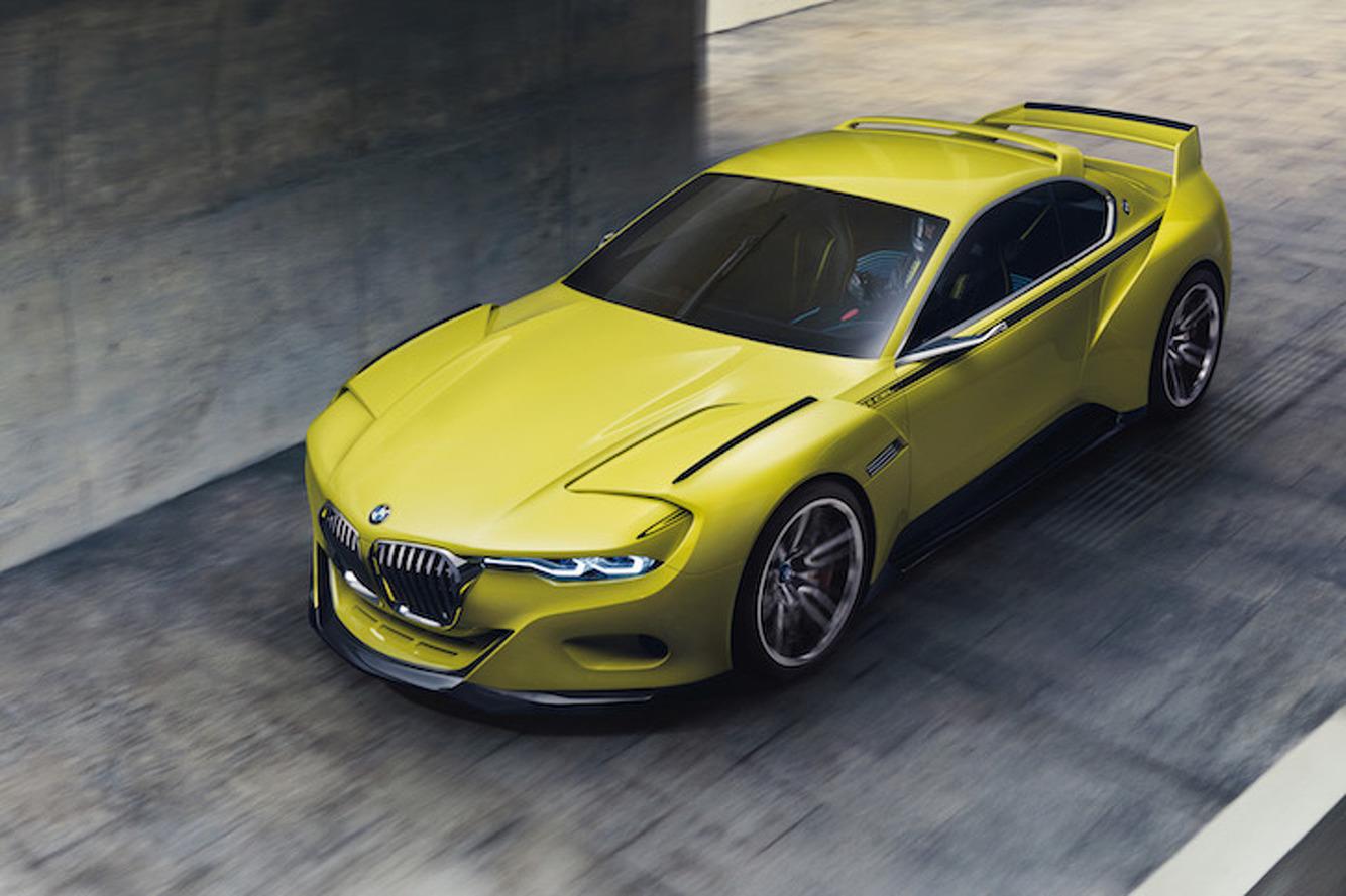 BMW 3.0 CSL Hommage Concept Looks Wonderfully Weird