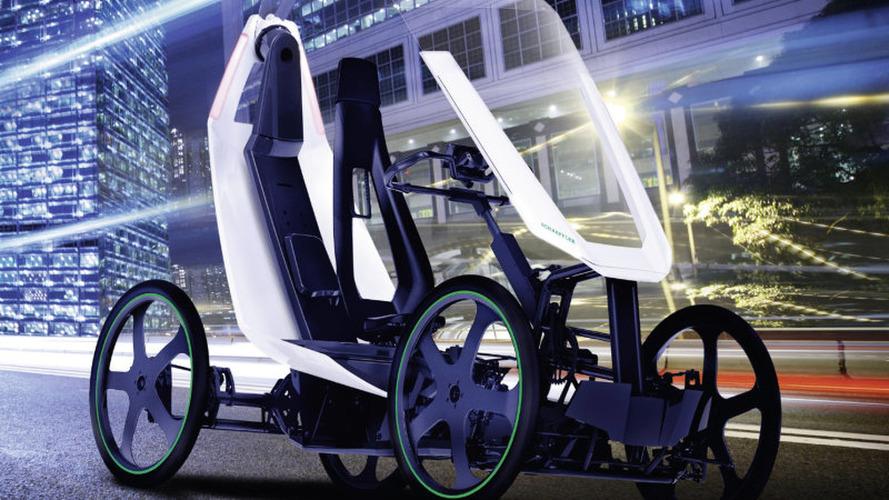 Schaeffler Bio-Hybrid is a four-wheeled e-bike concept