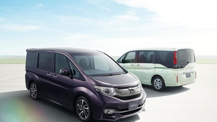 2015 Honda Step WGN unveiled with a turbocharged engine