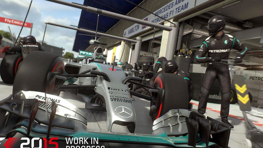 F1 2015 coming in June with improved realism