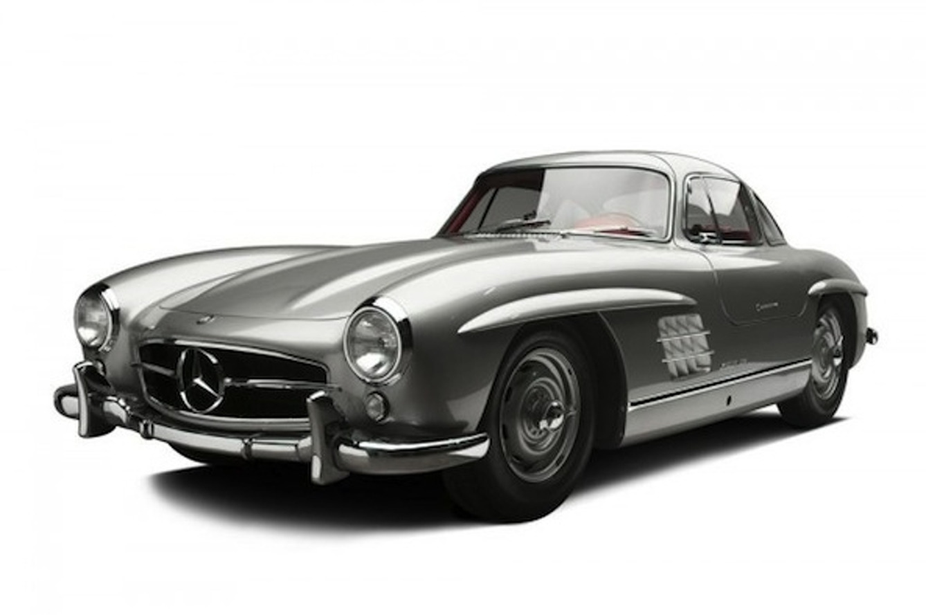 Clark Gable's Mercedes-Benz 300SL Gullwing Headed to Auction