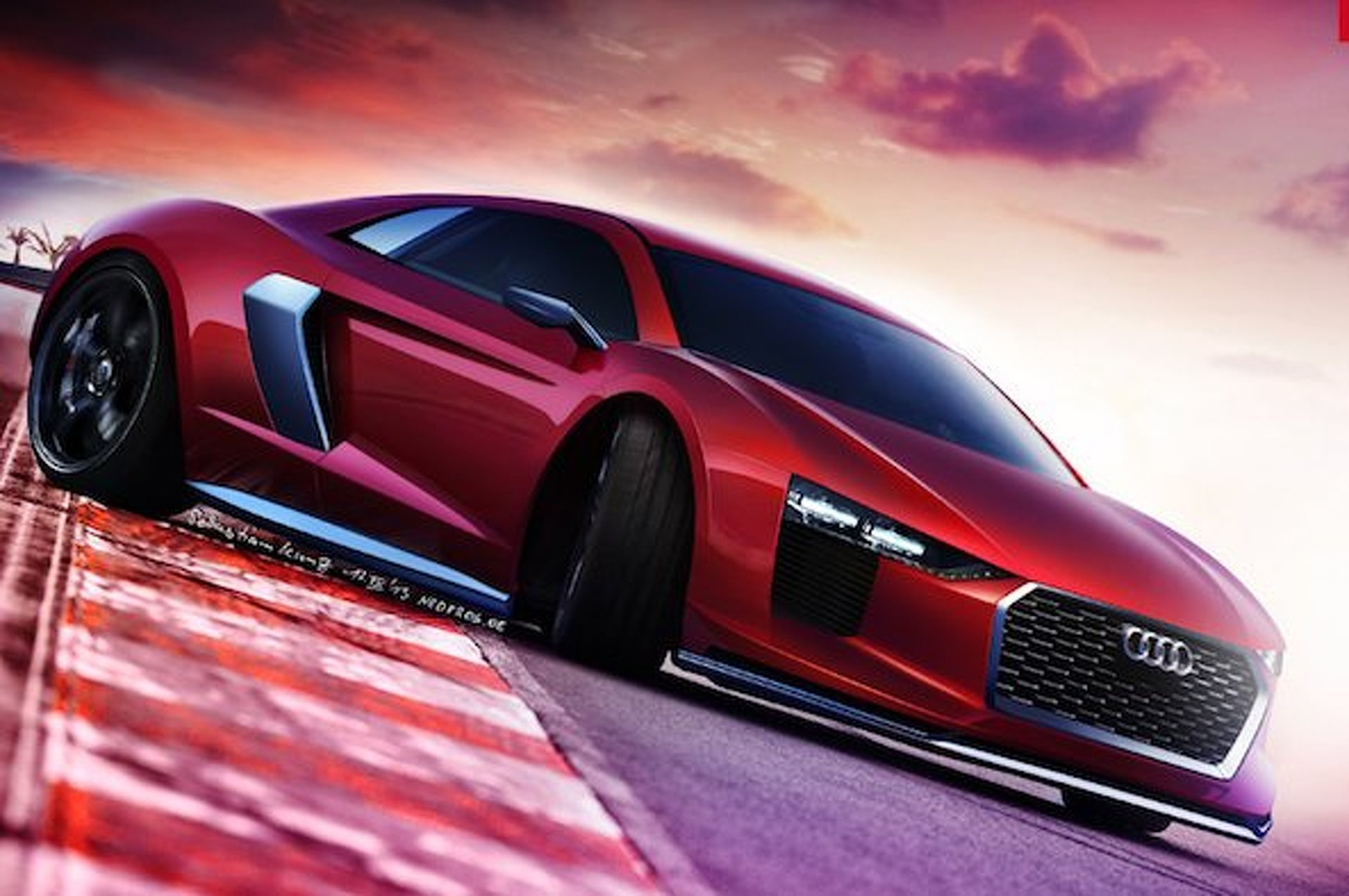 2015 Audi R8 Gets Digitally Rendered