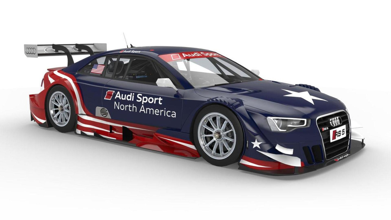 Audi RS5 DTM in USA livery 27.3.2013
