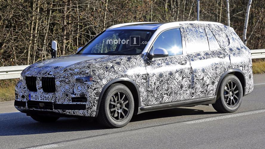 2018 BMW X5 üretime hazır gövdesiyle görüntülendi