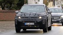 2018 Mitsubishi crossover spy photos