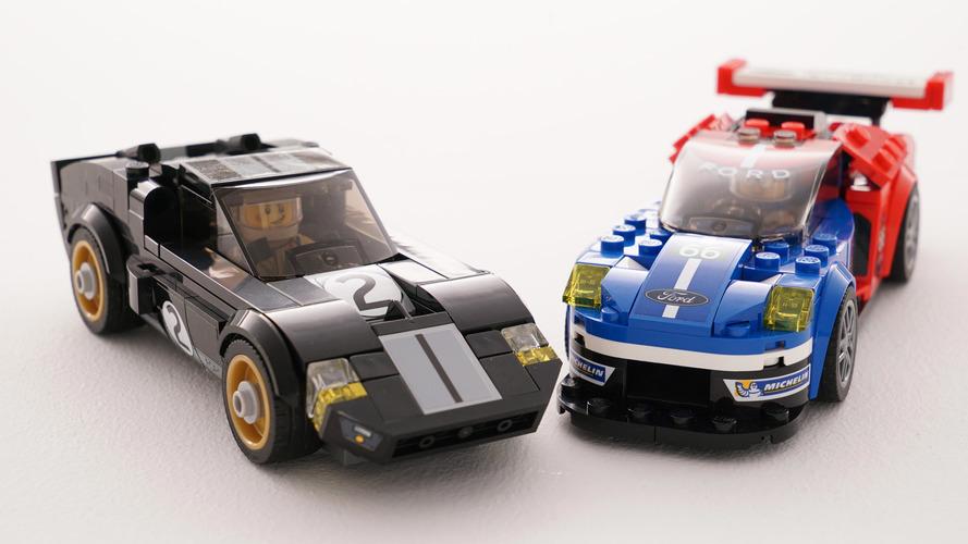 Lego'nun Ford GT Speed Champions kiti inanılmaz görünüyor