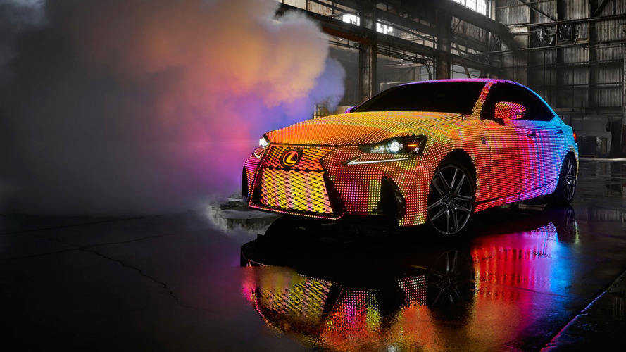 Lexus IS LED
