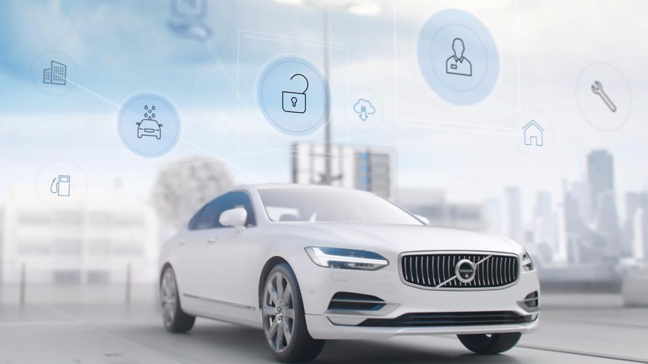 Volvo présente son nouveau service de conciergerie