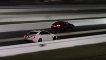 Tesla Model S P100D Ludicrous Plus drag record