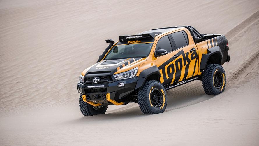 Un Toyota HiLux conçu pour les grands enfants