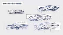Porsche 'Rebel' Sports Car Concept