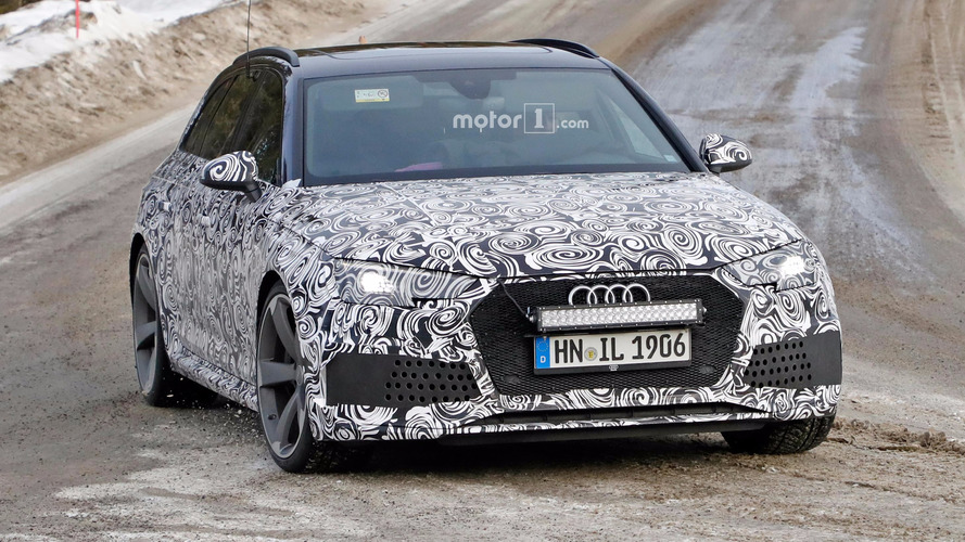 Audi spied perfecting RS4 Avant as ultimate fast estate