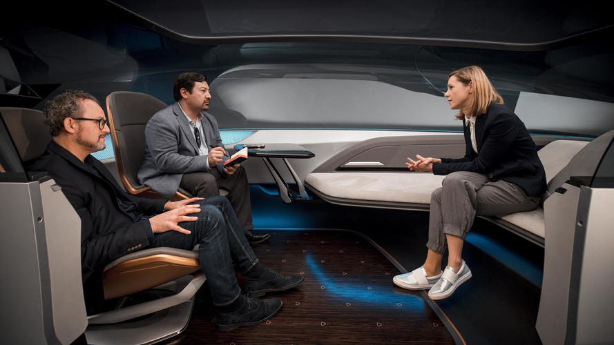 Long Distance Lounge Is Audi's Vision Of A Driverless Future