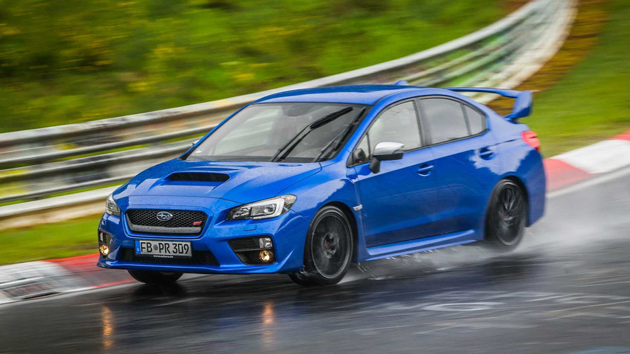 Why The Subaru WRX STI Is Perfect For Lapping The 'Ring In The Rain