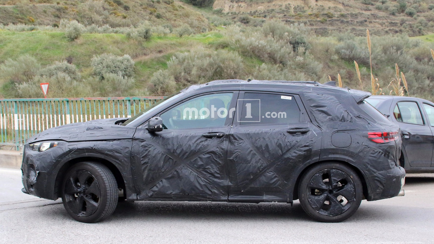 2018 Infiniti QX50 With Production Body Returns In New Spy Shots