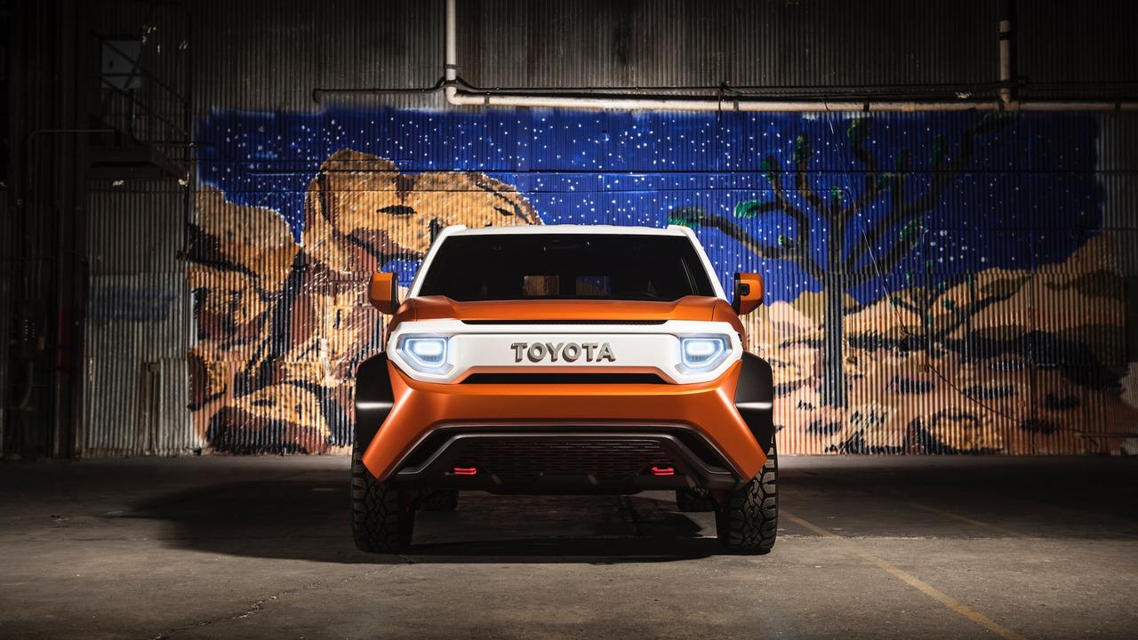 toyota ft  concept  ready    cruiser   land