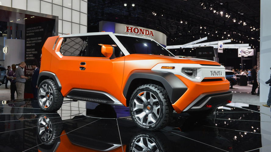 Toyota FT-4X Concept: The Land Cruiser Crossover