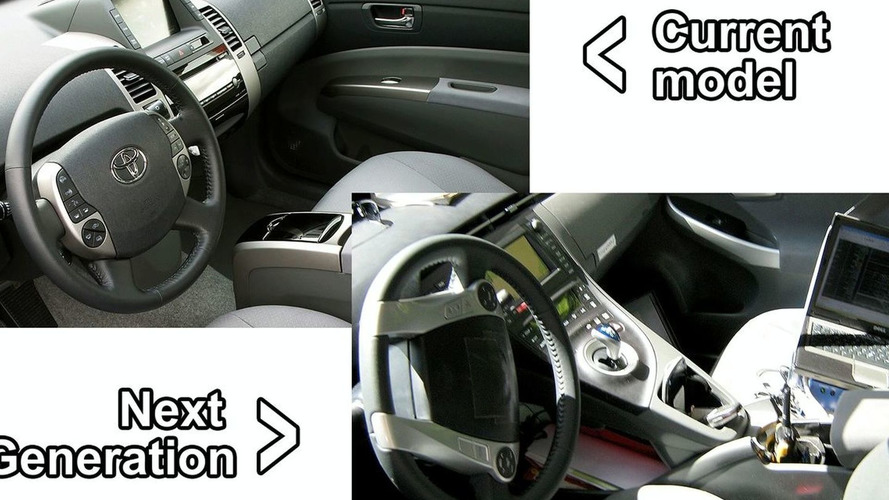 Spies Catch First Interior Shot of Next Generation Toyota Prius