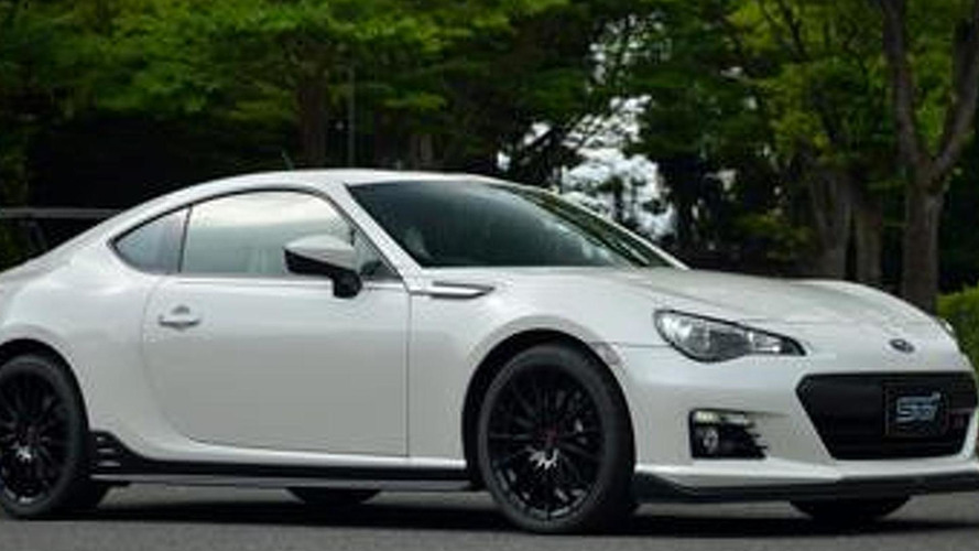 Subaru BRZ STI is likely just the BRZ ts concept