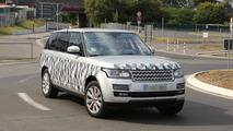 2014 Range Rover long wheelbase spy photo 23.07.2013