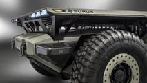 GM Surus kamyon şasisi