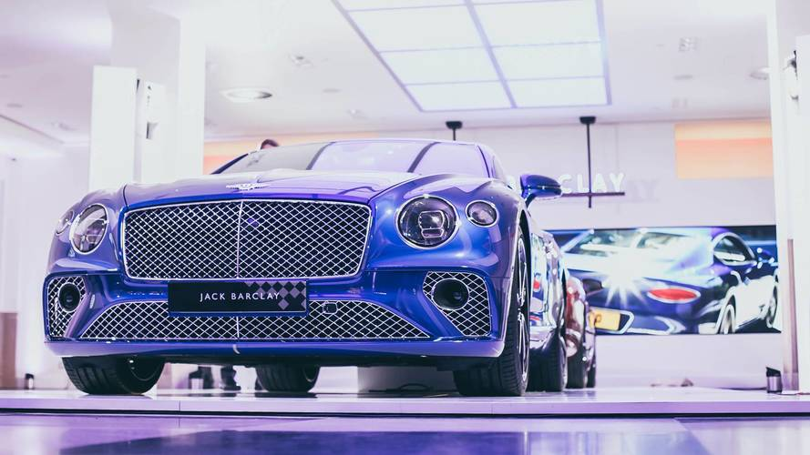 Bentley Continental GT arrives at UK dealer – yours from £154,000