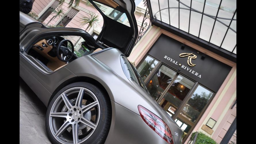La Mercedes SLS AMG debutta a Milano