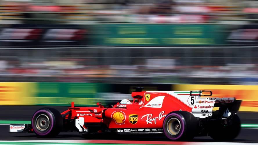 Vettel suma su 50 pole y defiende sus opciones de título en México