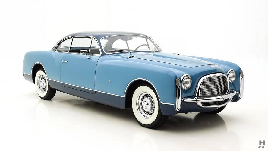 Cette magnifique Chrysler Ghia Special Coupé est à vendre