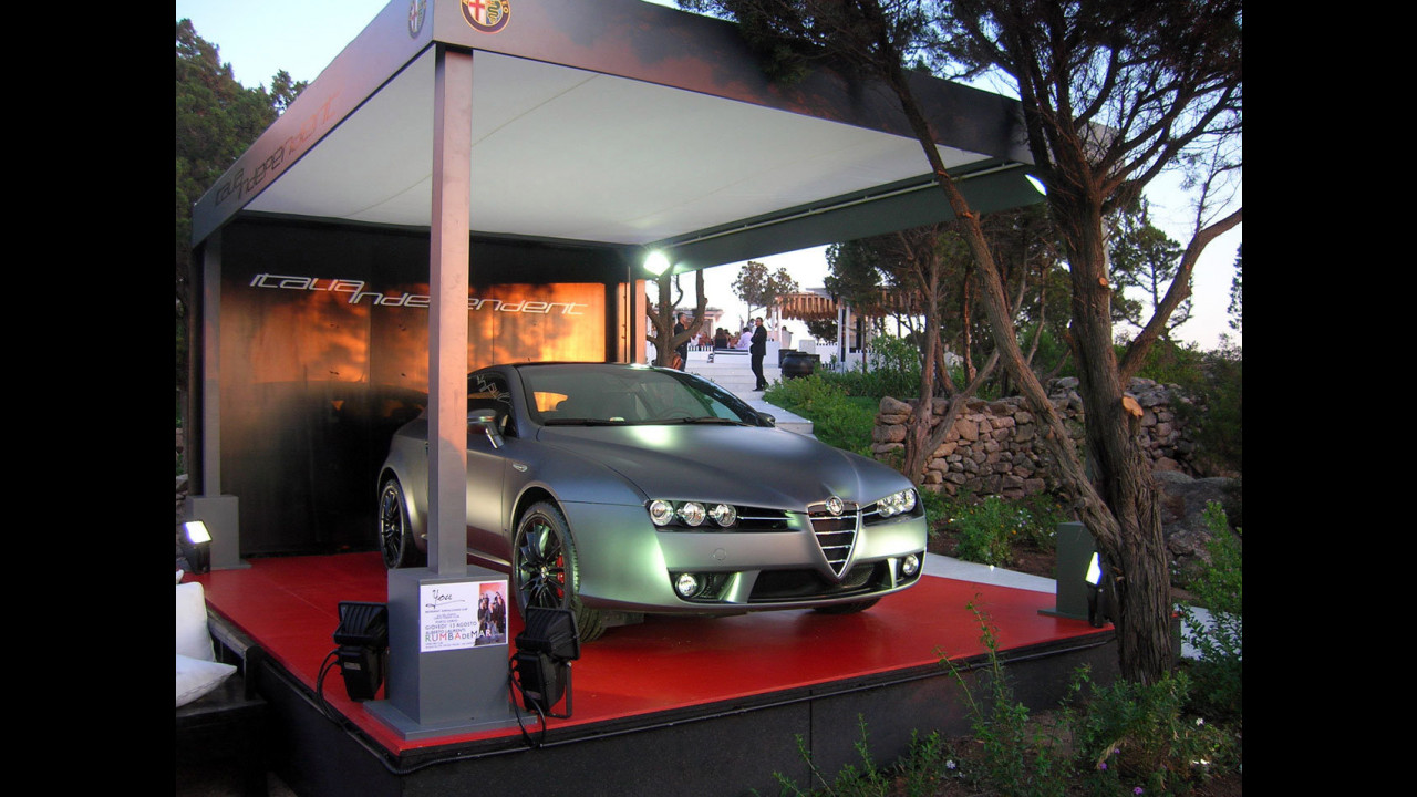 "L'Alfa Romeo Brera ""Italia Independent"" a Porto Cervo"