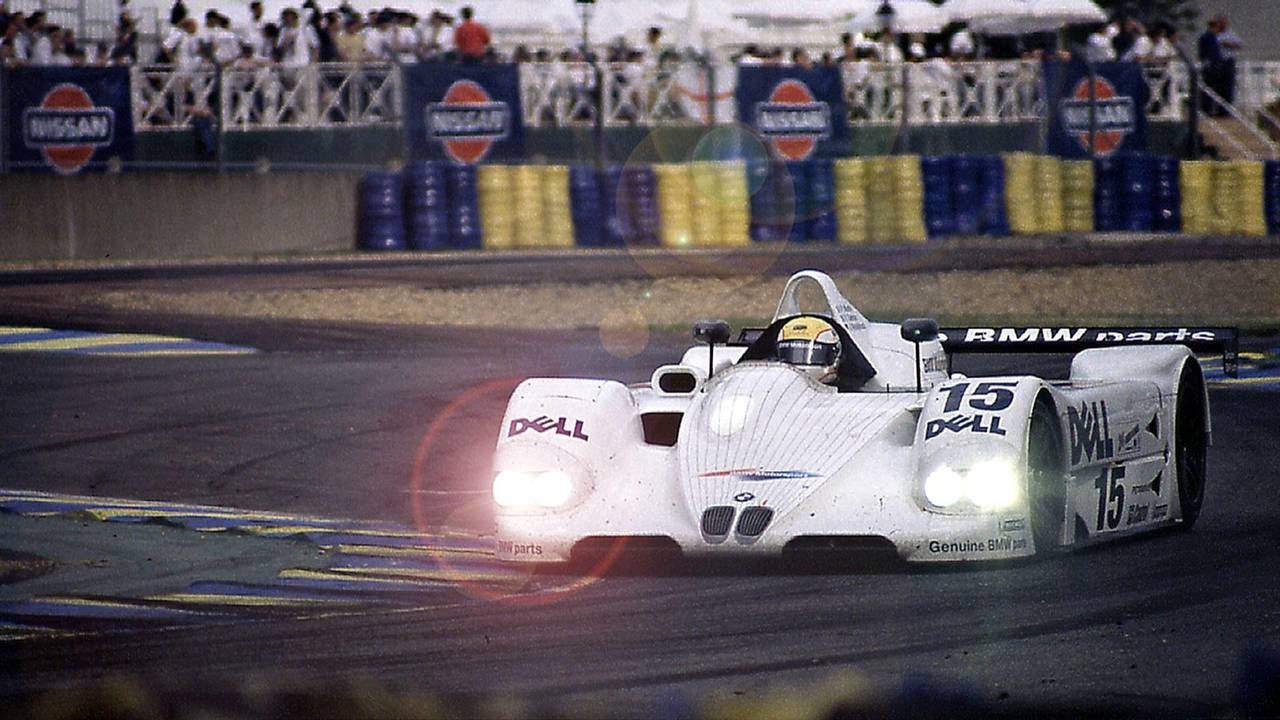 #15 BMW Motorsport BMW V12 LMR: Joachim Winkelhock, Pierluigi Martin