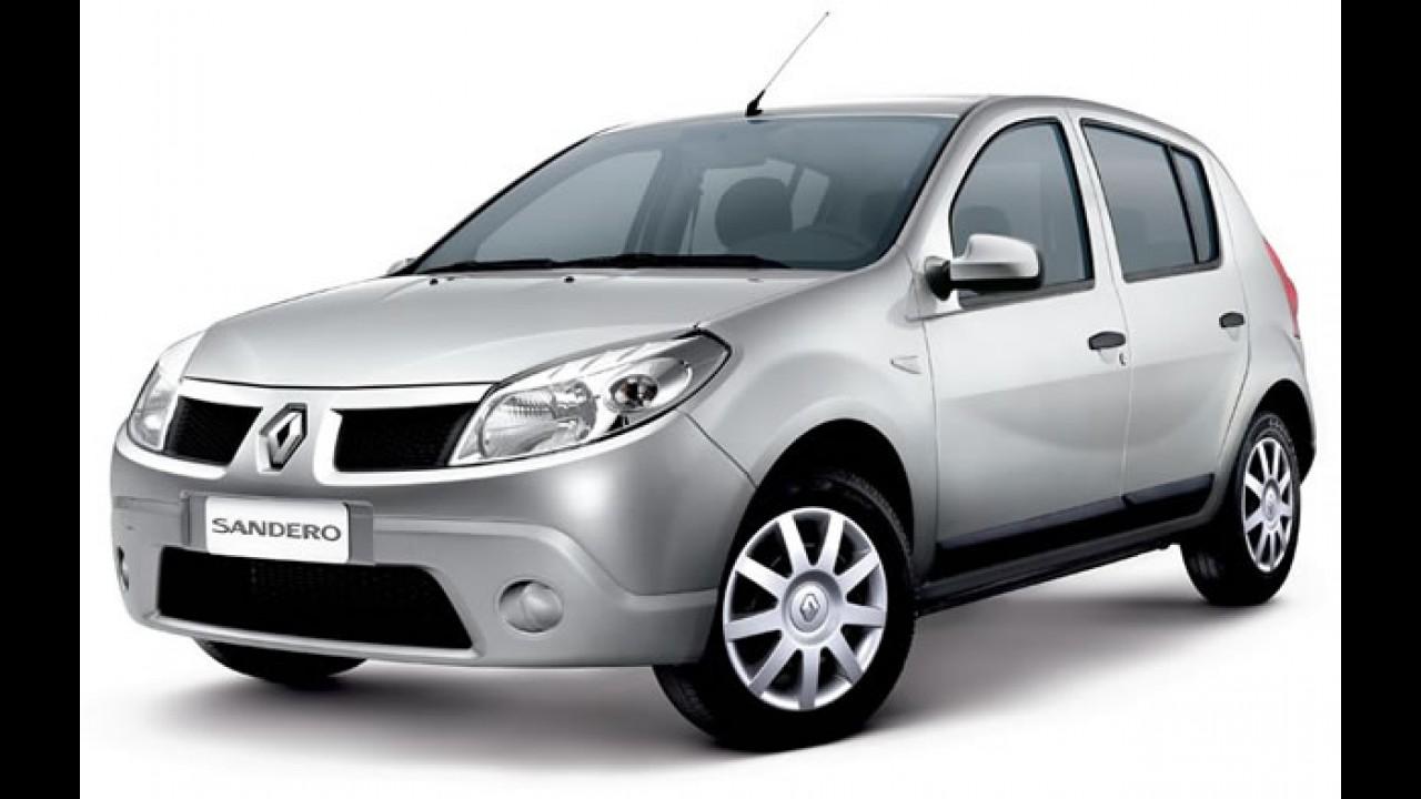 Renault anuncia Recall do Clio, Logan e Sandero com motor 1.0 16V no Brasil