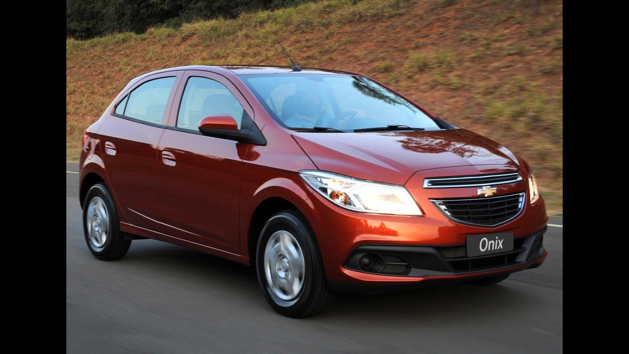 Até o último minuto: Chevrolet Onix sai por R$ 35.890 na semana da virada