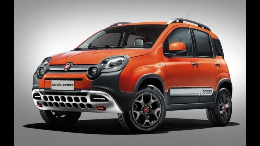 Fiat Panda Cross 4X4 será uma das atrações do Salão de Genebra