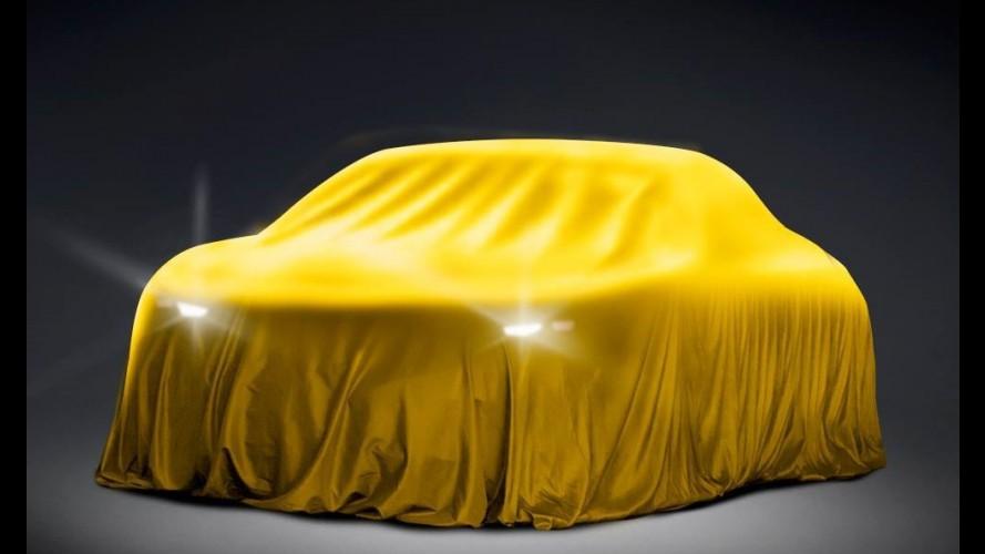 Opel divulga teaser de modelo misterioso para o Salão de Moscou