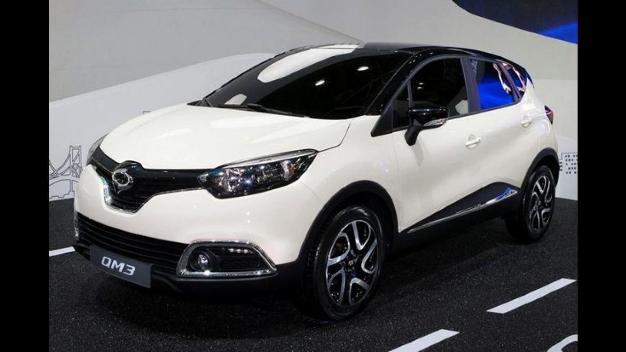 Samsung QM3 (Renault Captur) recebe 1.000 encomendas em sete minutos na Coreia