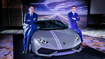 Lamborghini Huracan Avio launch in Hong Kong