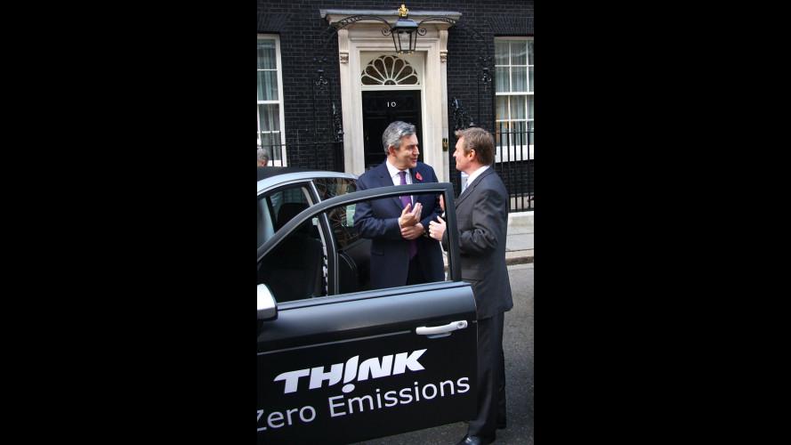 L'auto elettrica arriva a Downing Street