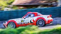 Abarth 124 Spider rally car