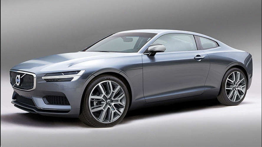 Volvo C90, la coupé che verrà